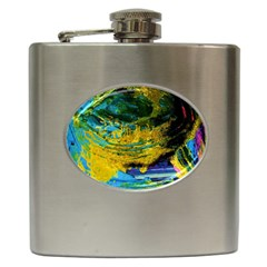 One Minute Egg 4 Hip Flask (6 Oz)