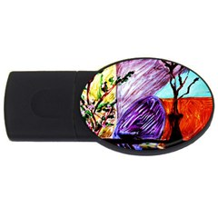 House Will Be Built 10 Usb Flash Drive Oval (4 Gb)