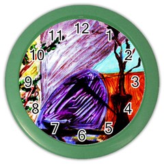 House Will Be Built 10 Color Wall Clocks