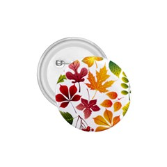 Beautiful Autumn Leaves Vector 1 75  Buttons