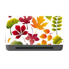 Beautiful Autumn Leaves Vector Memory Card Reader With Cf