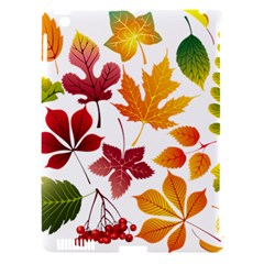 Beautiful Autumn Leaves Vector Apple Ipad 3/4 Hardshell Case (compatible With Smart Cover)