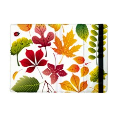 Beautiful Autumn Leaves Vector Apple Ipad Mini Flip Case