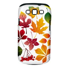 Beautiful Autumn Leaves Vector Samsung Galaxy S Iii Classic Hardshell Case (pc+silicone)