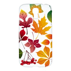 Beautiful Autumn Leaves Vector Samsung Galaxy S4 I9500/i9505 Hardshell Case