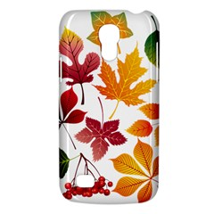 Beautiful Autumn Leaves Vector Galaxy S4 Mini
