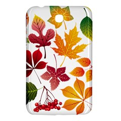 Beautiful Autumn Leaves Vector Samsung Galaxy Tab 3 (7 ) P3200 Hardshell Case