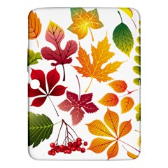 Beautiful Autumn Leaves Vector Samsung Galaxy Tab 3 (10 1 ) P5200 Hardshell Case