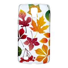 Beautiful Autumn Leaves Vector Galaxy S4 Active