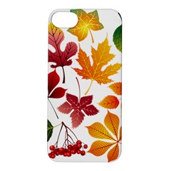 Beautiful Autumn Leaves Vector Apple Iphone 5s/ Se Hardshell Case