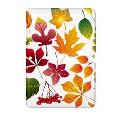 Beautiful Autumn Leaves Vector Samsung Galaxy Tab 2 (10 1 ) P5100 Hardshell Case