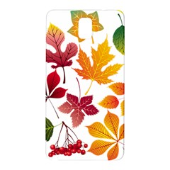 Beautiful Autumn Leaves Vector Samsung Galaxy Note 3 N9005 Hardshell Back Case