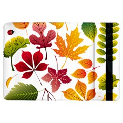 Beautiful Autumn Leaves Vector Ipad Air 2 Flip