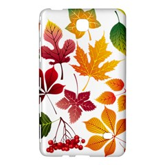 Beautiful Autumn Leaves Vector Samsung Galaxy Tab 4 (8 ) Hardshell Case