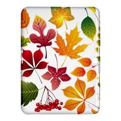 Beautiful Autumn Leaves Vector Samsung Galaxy Tab 4 (10 1 ) Hardshell Case