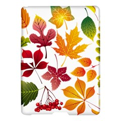 Beautiful Autumn Leaves Vector Samsung Galaxy Tab S (10 5 ) Hardshell Case