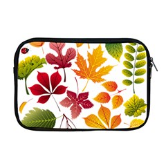Beautiful Autumn Leaves Vector Apple Macbook Pro 17  Zipper Case