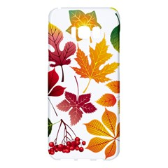 Beautiful Autumn Leaves Vector Samsung Galaxy S8 Plus Hardshell Case