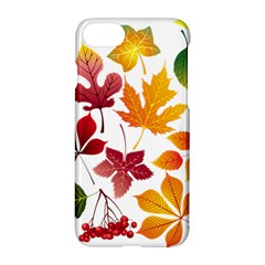 Beautiful Autumn Leaves Vector Apple Iphone 8 Hardshell Case