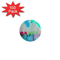 Abstract Background 1  Mini Buttons (100 Pack)