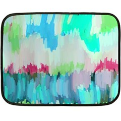 Abstract Background Fleece Blanket (mini)