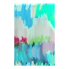 Abstract Background Shower Curtain 48  X 72  (small)