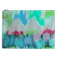 Abstract Background Cosmetic Bag (xxl)