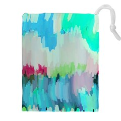 Abstract Background Drawstring Pouches (xxl) by Modern2018