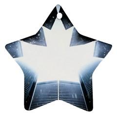 Portrait Panther Ornament (star)