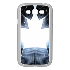 Portrait Panther Samsung Galaxy Grand Duos I9082 Case (white) by Modern2018