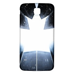 Portrait Panther Samsung Galaxy S5 Back Case (white)