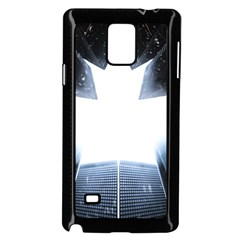 Portrait Panther Samsung Galaxy Note 4 Case (black)