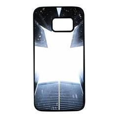 Portrait Panther Samsung Galaxy S7 Black Seamless Case