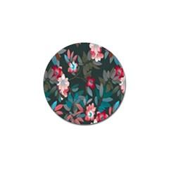 Floral Pattern Golf Ball Marker (10 Pack)