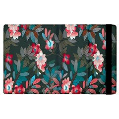 Floral Pattern Apple Ipad 3/4 Flip Case