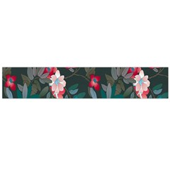 Floral Pattern Large Flano Scarf