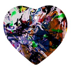 Jealousy   Battle Of Insects 6 Ornament (heart)