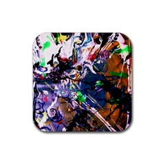 Jealousy   Battle Of Insects 6 Rubber Coaster (square)
