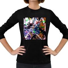Jealousy   Battle Of Insects 6 Women s Long Sleeve Dark T Shirts