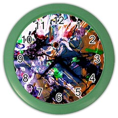 Jealousy   Battle Of Insects 6 Color Wall Clocks