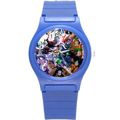 Jealousy   Battle Of Insects 6 Round Plastic Sport Watch (s)