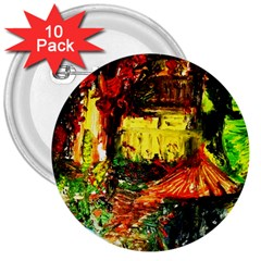 St Barbara Resort 3  Buttons (10 Pack)