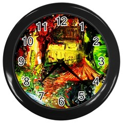 St Barbara Resort Wall Clocks (black)