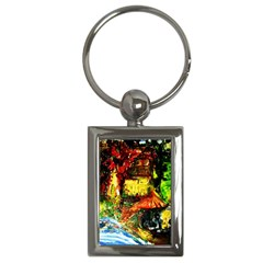 St Barbara Resort Key Chains (rectangle)  by bestdesignintheworld
