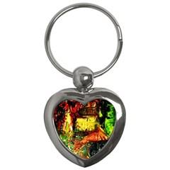 St Barbara Resort Key Chains (heart)