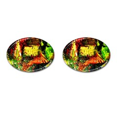 St Barbara Resort Cufflinks (oval)