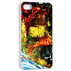 St Barbara Resort Apple Iphone 4/4s Seamless Case (white)