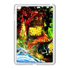 St Barbara Resort Apple Ipad Mini Case (white) by bestdesignintheworld