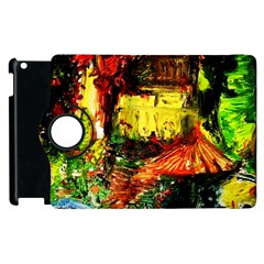 St Barbara Resort Apple Ipad 3/4 Flip 360 Case by bestdesignintheworld