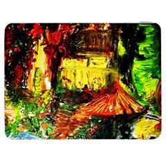 St Barbara Resort Samsung Galaxy Tab 7  P1000 Flip Case by bestdesignintheworld